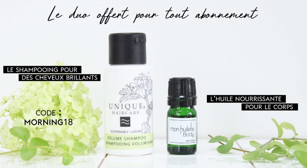 Les box beauté bio thématiques de nuoo